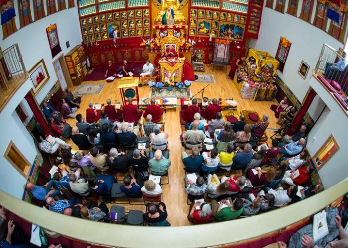 Thrangu Rinpoche Confers Chakrasamvara Empowerment in